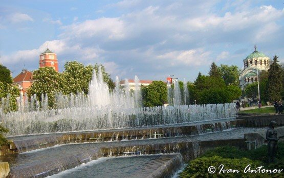 Fountains, Pleven City