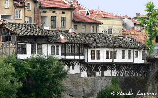 Traditional Houses in Troyan